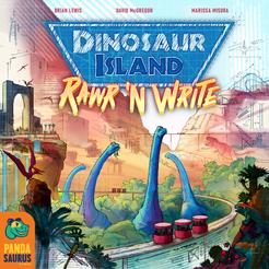 Dinosaur Island Rawr 'n Write (Pandasaurus Games) cover