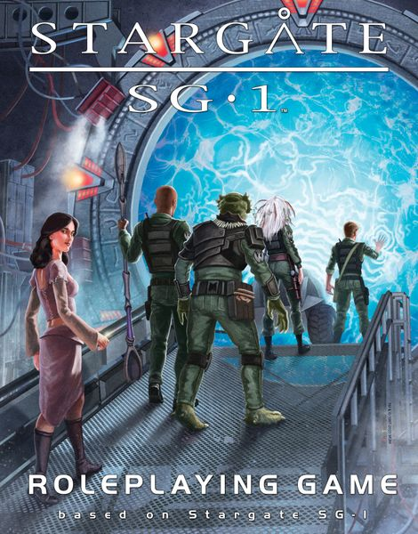 Stargate Roleplaying Game cover