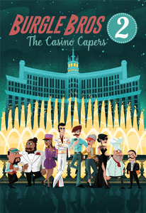 Burgle Bros 2 The Casino Capers (Fowers Games) cover artwork