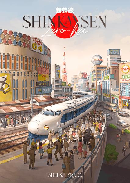 Shinkansen Zero Kei (Ludonova) cover