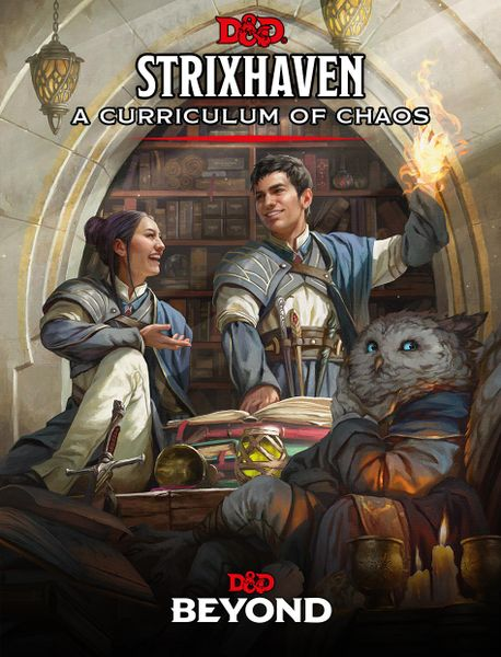 Strixhaven A Curriculum of Chaos cover