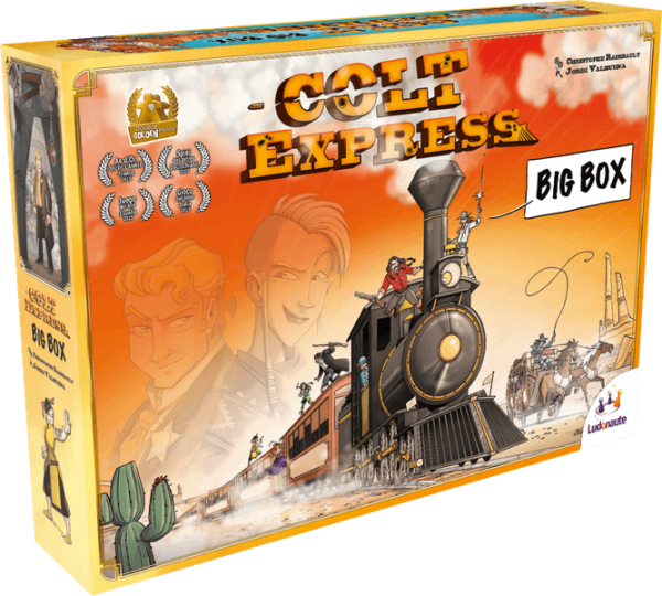 Colt Express Big Box box design