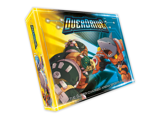 OverDrive (Mantic Games) cover