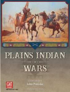 Plains Indian Wars Board Game (GMT Games) cover)